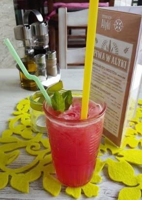 Lemoniada arbuzowa - Restauracja Alyki