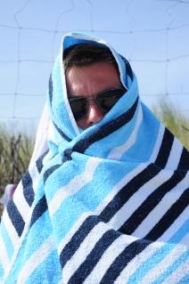 Ręcznik jedyną ochroną przed słońcem :)